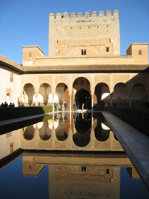 Alhambra Fort, Granada Spain